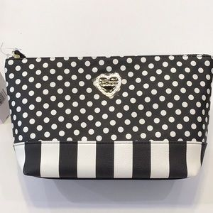 Betsey Johnson cosmetic case